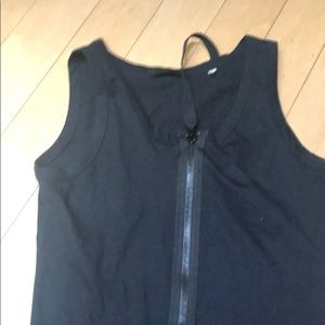 Helmut Lang Tops - Helmut Lang zip up tshirt size 40